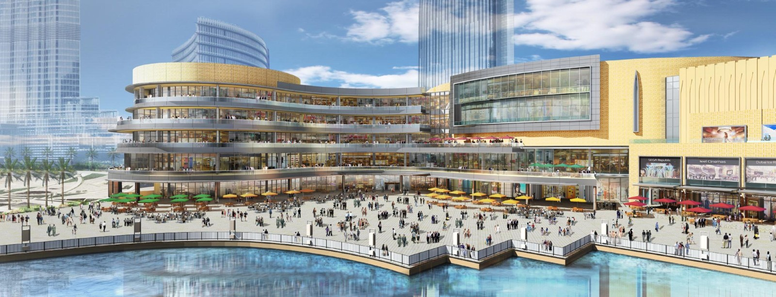 The dubai mall expansion it is all about dubai the massive expansion of the dubai mall the worlds largest shopping and entertainment destination has commenced in preparation to welcome over 100 million sciox Choice Image